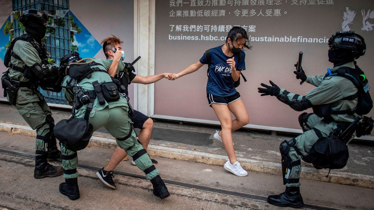 How Apple, Google and Blizzard Are Silencing Hong Kong Protesters
