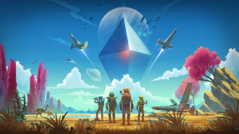 No Man's Sky is coming to Xbox One in July with multiplayer