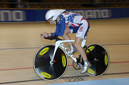 Sarah Hammer, UCI Track Cycling World Championships 2010, women's individual pursuit qualifying