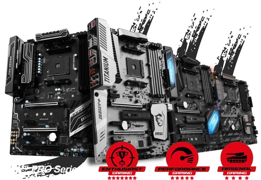 MSI shows off mystery AM4 Pro series motherboard supporting SLI
