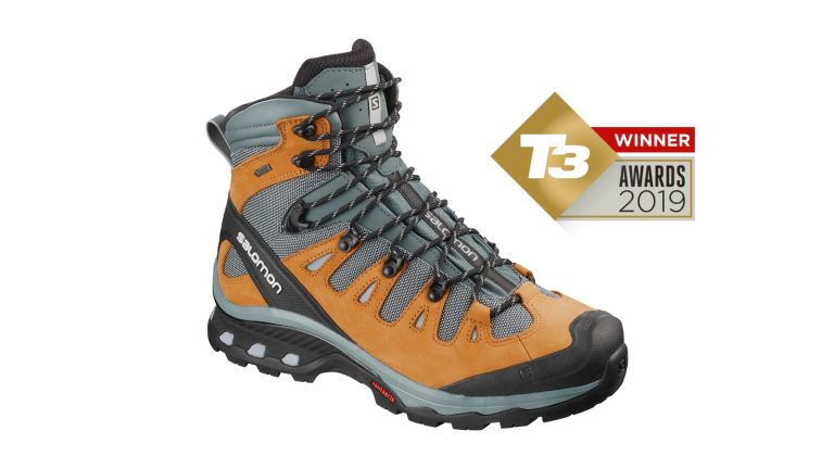 T3 Awards 2019 the Salomon Quest 4D 3 GTX win our top Hiking Boots Award