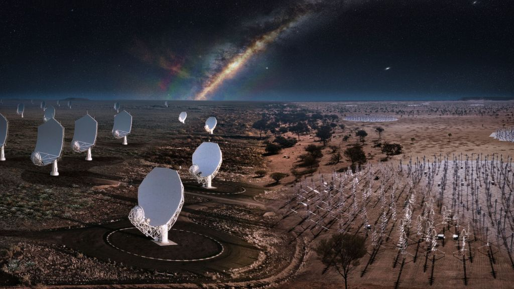 World's largest radio telescope to be built after almost 30 years of planning