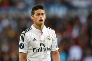 James Rodriguez has swapped Real Madrid for Everton