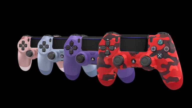 DualShock 4 wireless controller September colours