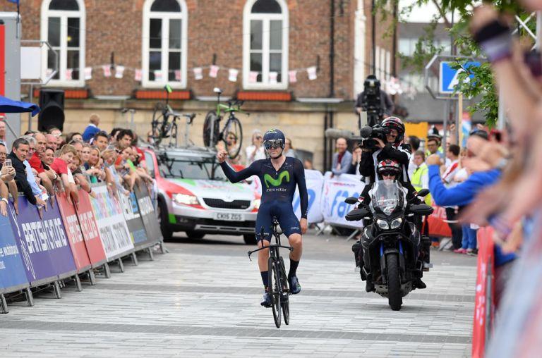 Alex Dowsett wins 2016 British national time trial championship