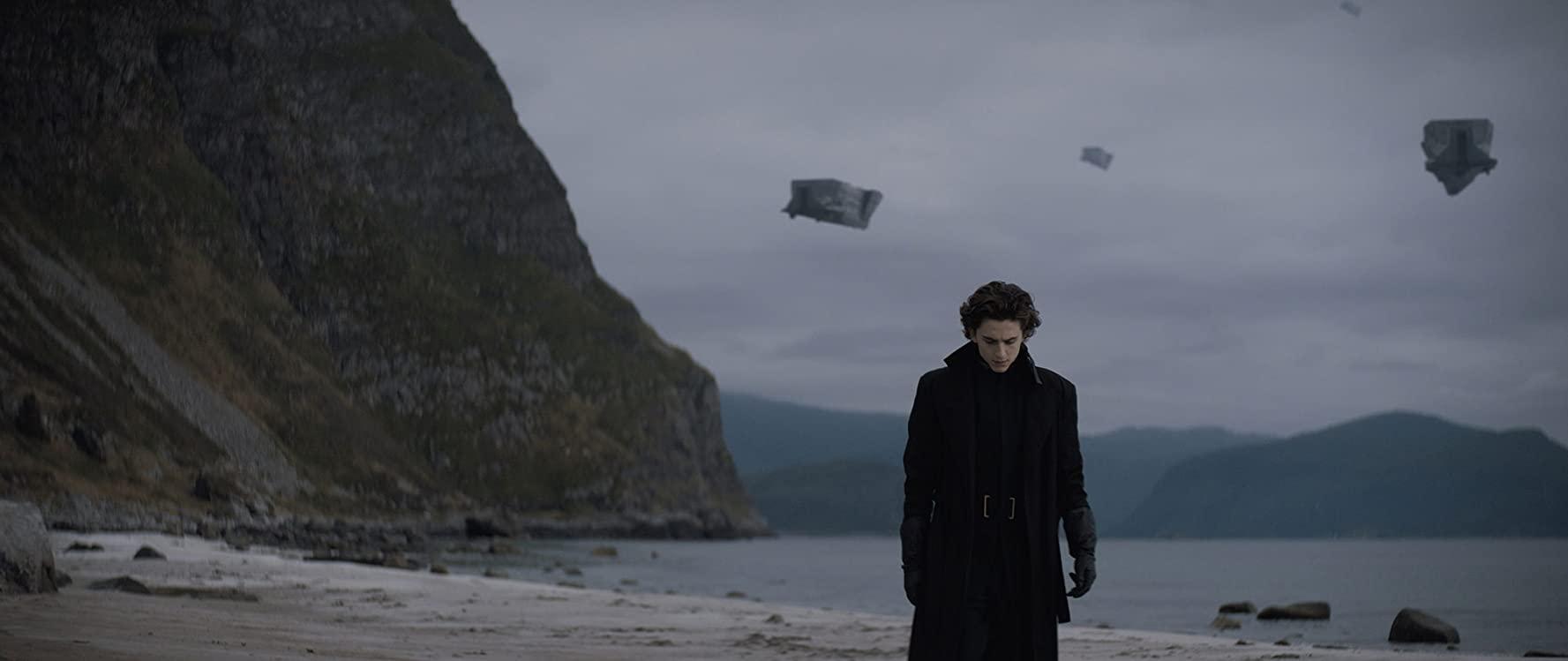 Timothee Chalamet in Dune 2020