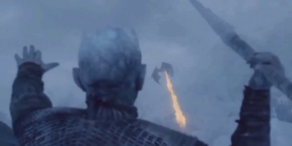 Viserion The Night King Game Of Thrones HBO