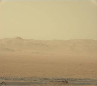 mars dust