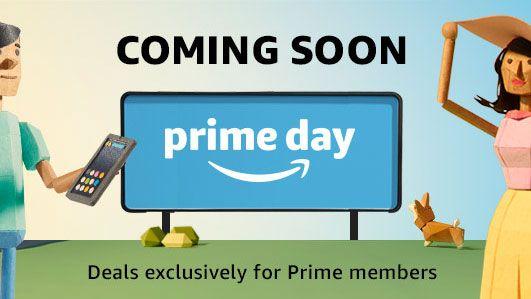 amazon advert for Amazon prime day 2019