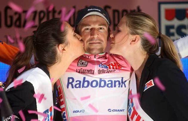 Denis Menchov Giro stage 18 2009