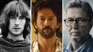 Eric Clapton in the 60s, 70s and 2016