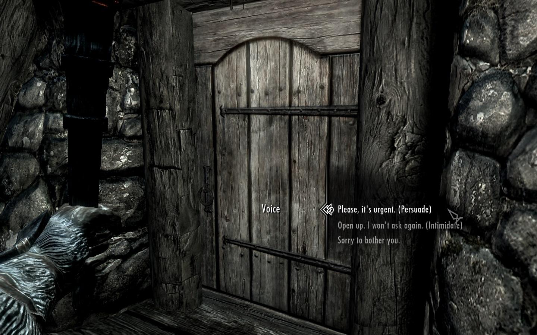 the best skyrim mods: simply knock