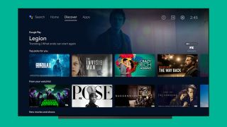 The new Android TV interface