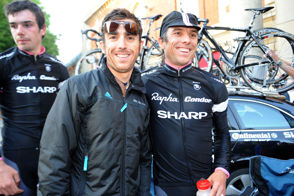Dean and Russell Downing, Tour Series 2011, round 3