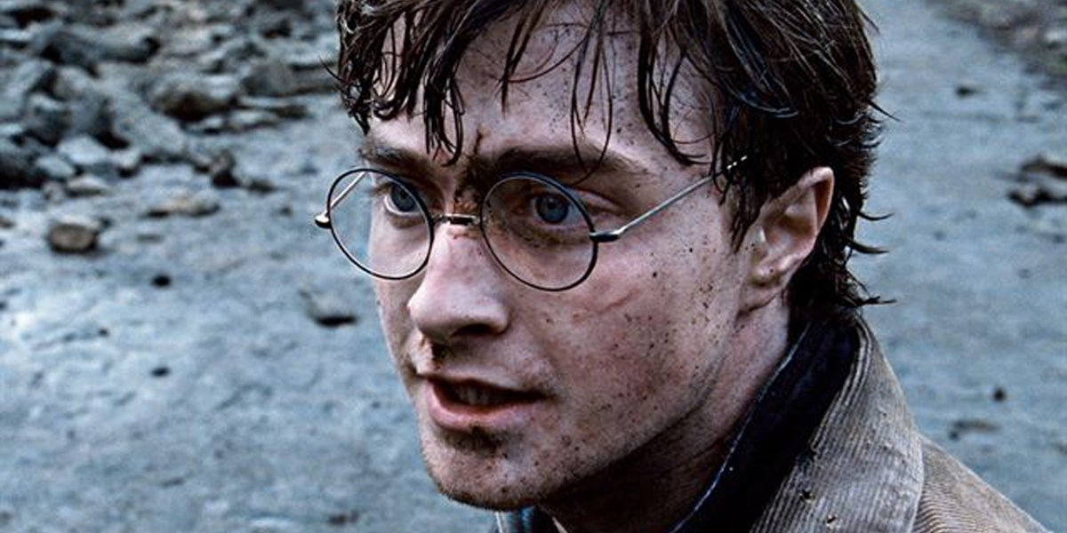 Daniel Radliffe Harry Potter looks rough in Deathly Hallows movie