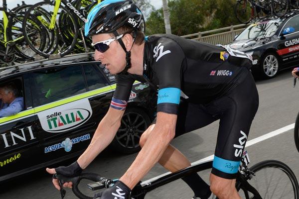 Bradley Wiggins, Giro d'Italia 2013, stage four