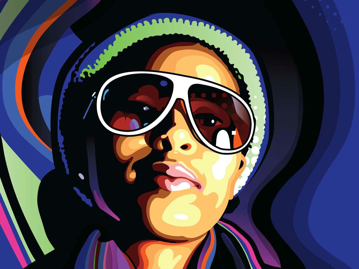 Illustrator tutorials: stylish vector portraits