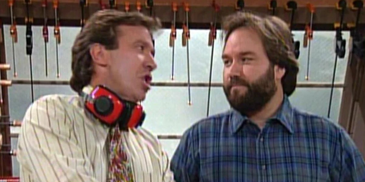 Time Allen and Richard Karn on Home Improvement