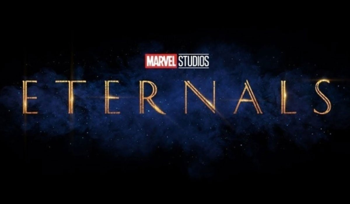 Marvel's eternals logo
