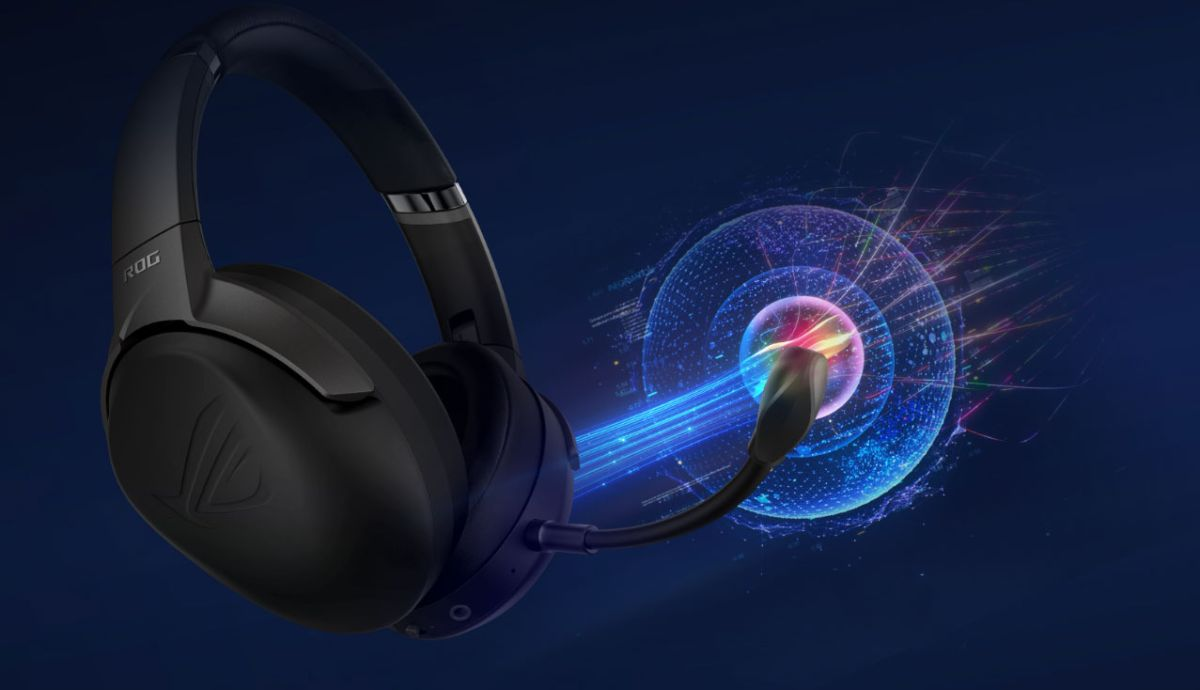 Asus is using AI to bolster the noise-cancelling mic in its latest gaming headset