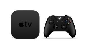 Apple TV and Xbox Wireless Controller