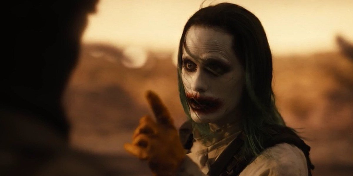 Jared Leto as Joker in Justice League