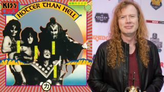 Dave Mustaine on KISS' Hotter Than Hell album