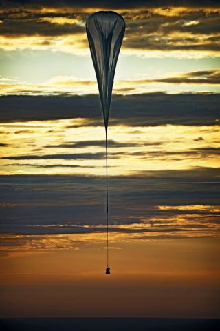 Red Bull Stratos Capsule and Balloon