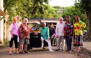 As the celebrity senior citizens begin the second week of their stay in southwest India, in The Real Marigold Hotel, they have a birthday to celebrate – Amanda Barrie is turning 81.