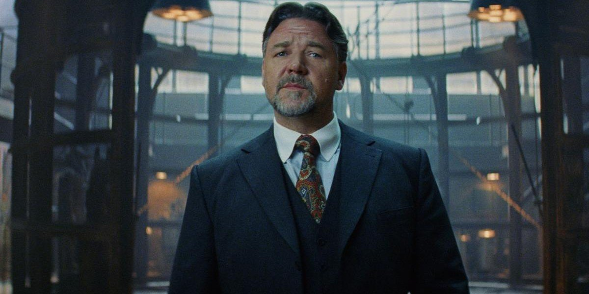 Russell Crowe as Dr. Jekyll in The Mummy (2017)