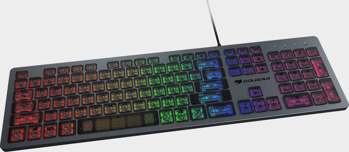 Here's a gaming keyboard for people who like typing on laptops