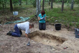 archaeology excavation at Treblinka