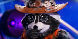 How Two And A Half Men Inspired The Masked Singer Raccoon's Recent Wild Performance