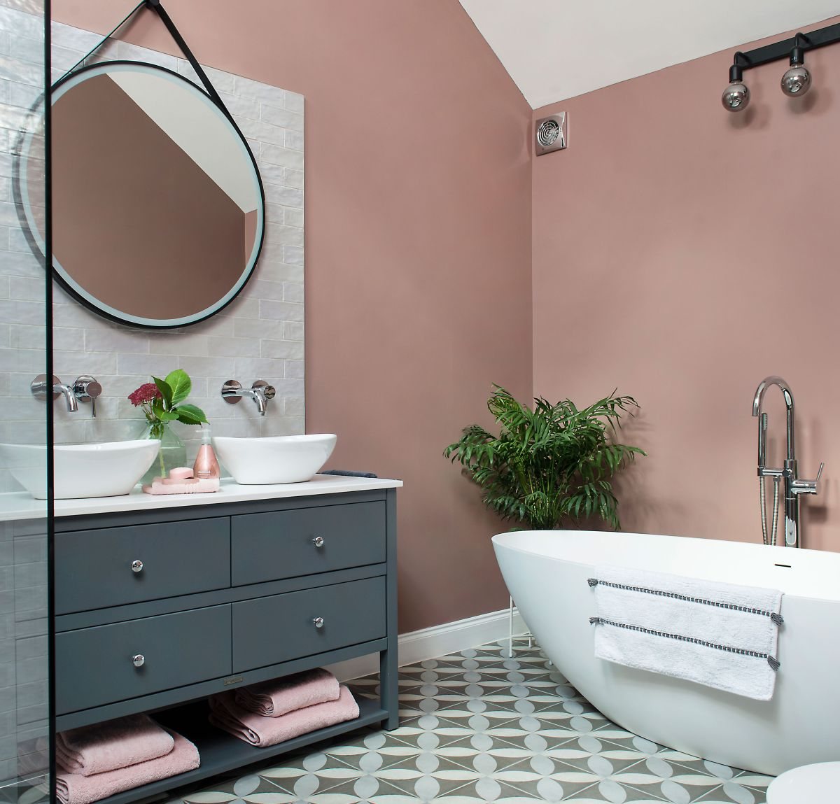 Room reshuffle makes space for the bathroom of dreams