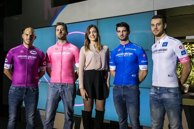 b5e706943 Giro d Italia 2018 jerseys unveiled - Cycling Weekly
