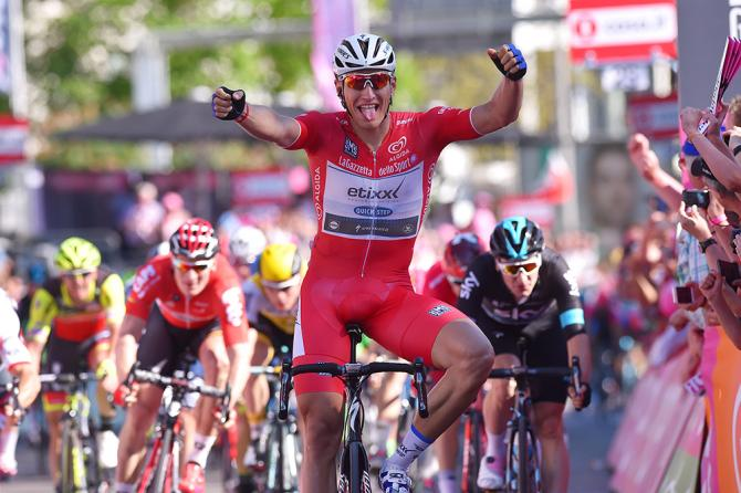 Marcel Kittel (Etixx-Quickstep) wins stage 3 of the Giro d'Italia
