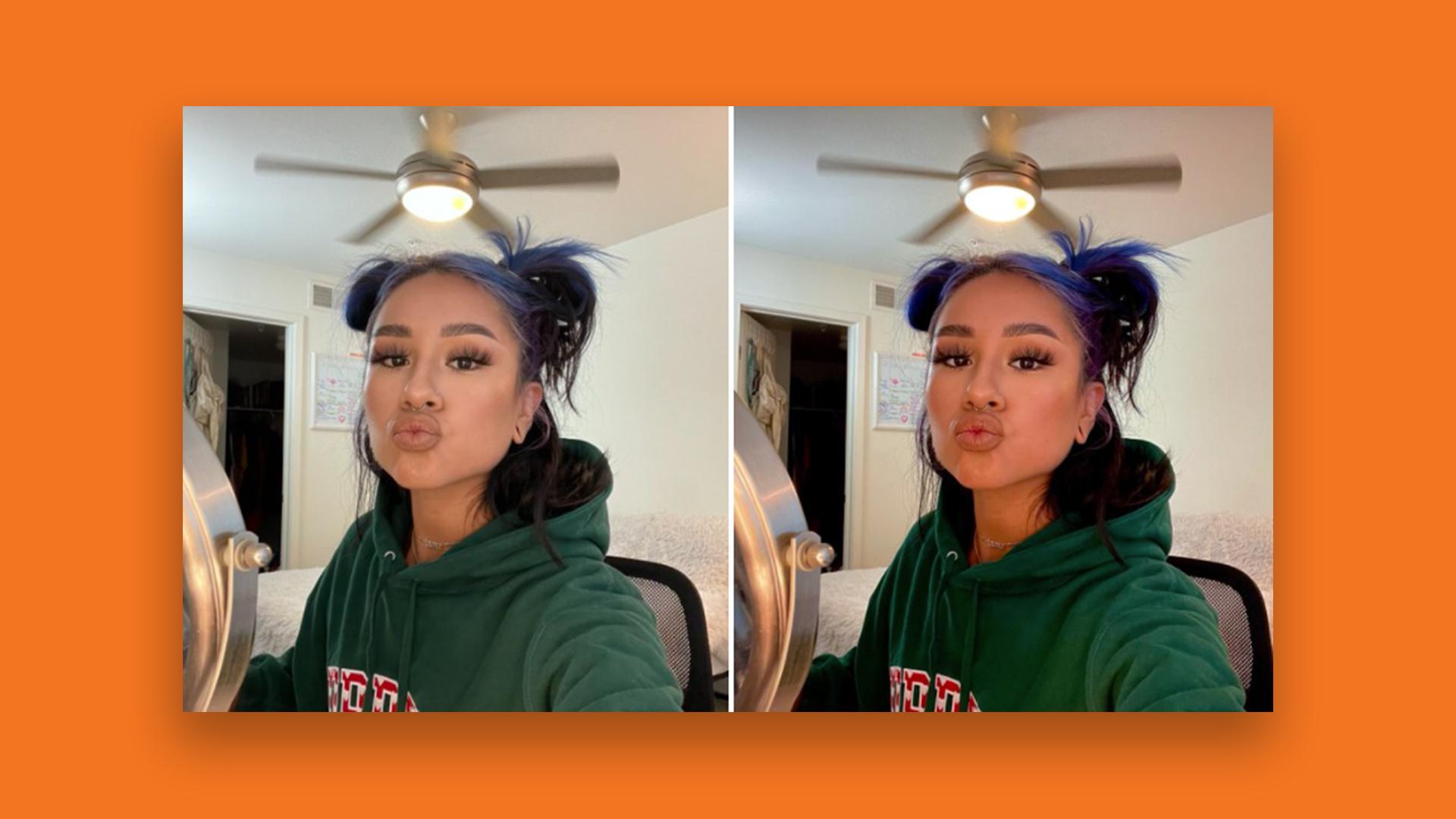TikTok users are loving this photo editing hack