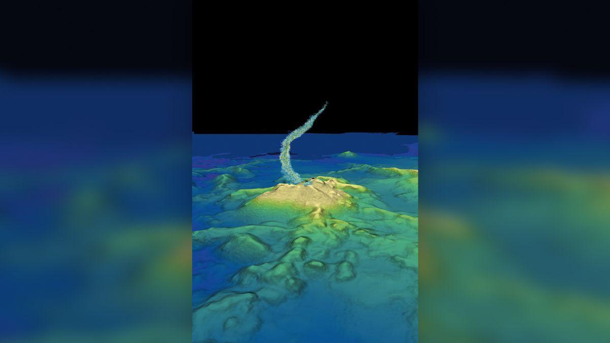 World's biggest underwater eruption birthed skyscraper-size volcano