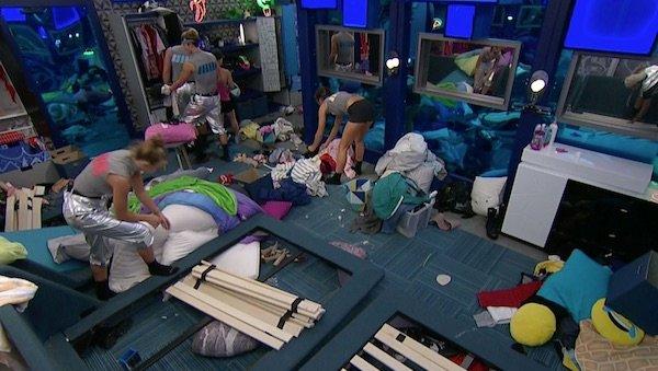Big Brother house mess
