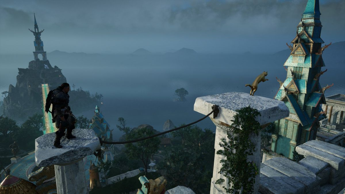 AC Valhalla A Feline's Footfall: How to get it   PC Gamer