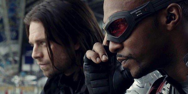 Winter Soldier and Falcon in Captain America: Civil War