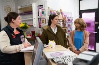 Coronation Street Spoilers: Shona Ramsey is shocked when Gail cancels the wedding