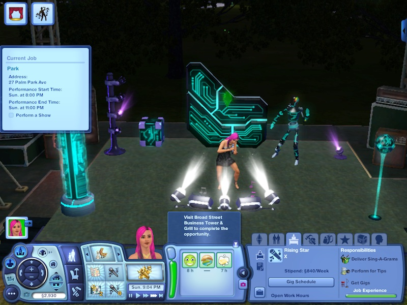 The Sims 3 Showtime Expansion Pack Review: Music, Magic And Acrobatics #21044