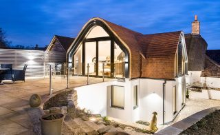 House extension featuring glazing from Kloeber