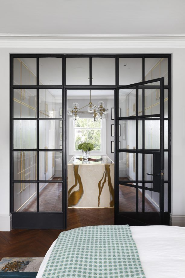 cool crittall style doors windows and room dividers. Black Bedroom Furniture Sets. Home Design Ideas