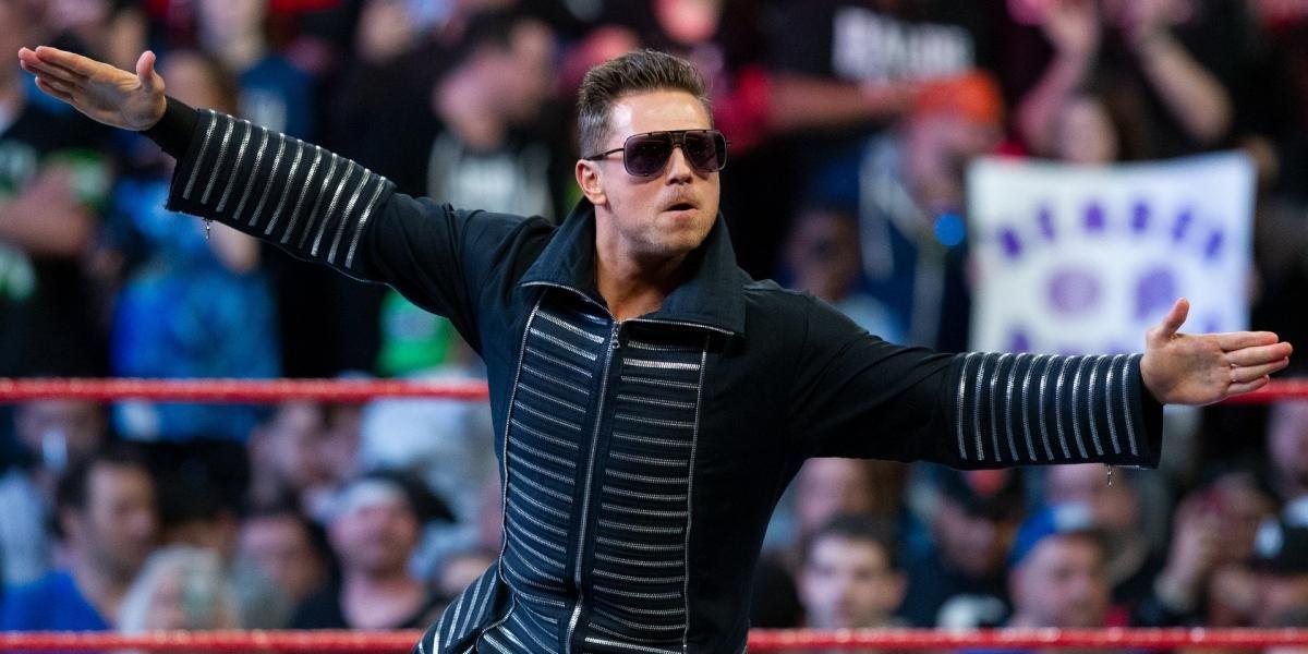 The Miz on Raw