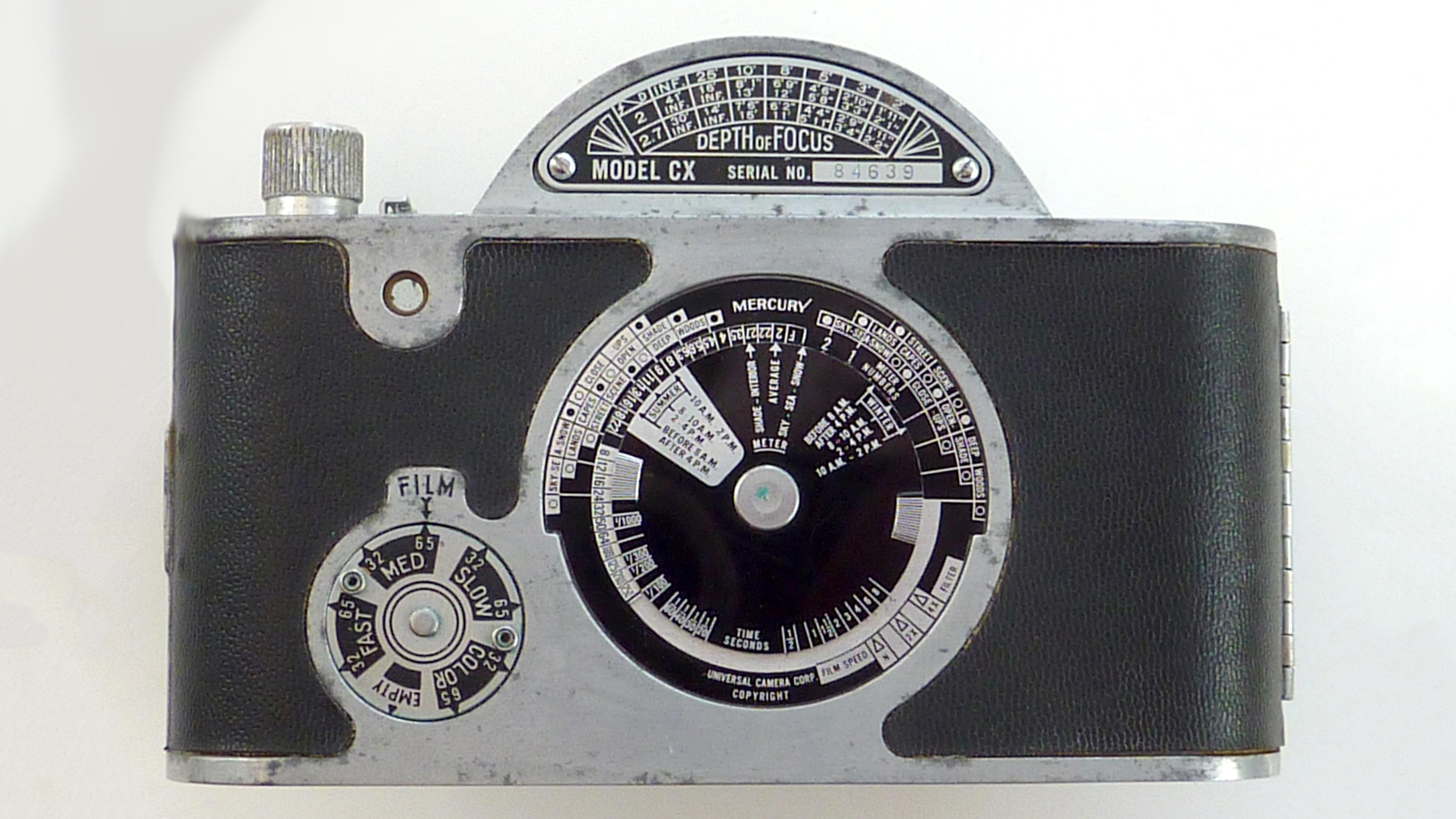 The back of the Mercury II camera