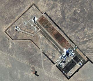 Satellite Spots China's Manned Rocket