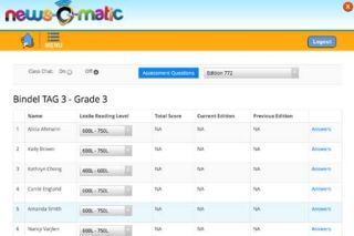 2015-16 News-O-Matic for School An Exceptional Resource
