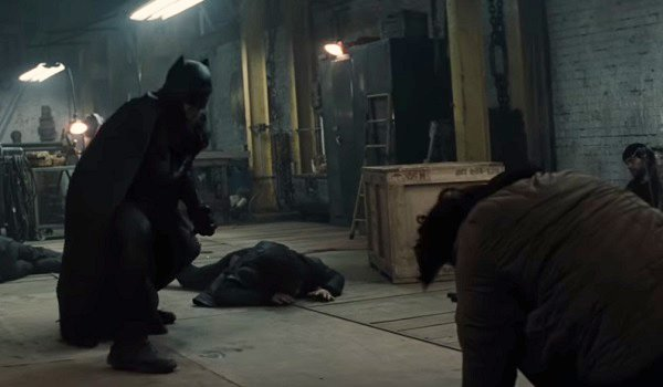 Batman Warehouse Fight Batman V Superman Dawn of Justice